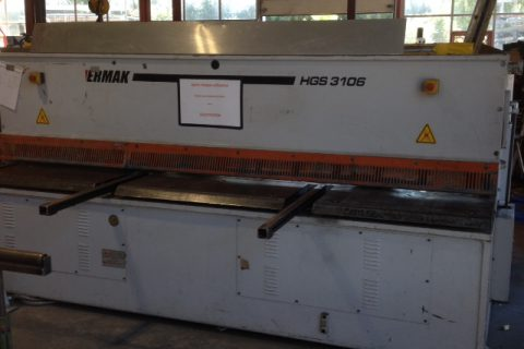 Cisaille tole occasion Ermaksan HGS 3106