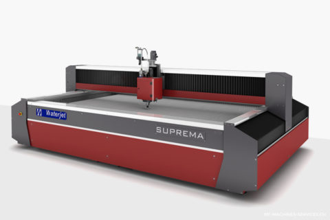 Machines découpe waterjet Suprema DX