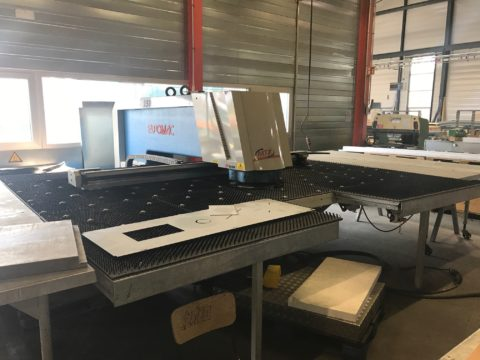 Poinçonneuse Euromac MTX Autoindex MT-Metall Technik MT Machines Tolerie
