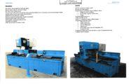 Perceuse CNC Banc de percage CMA mt metall technik machines serrurier construction metallique occasion