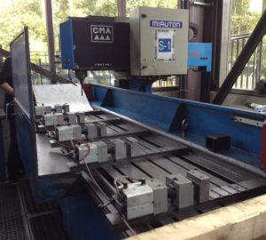 Perceuse CNC Banc de percage CMA mt metall technik machines serrurier construction metallique occasion neuf