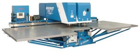Poiconneuse Boschert Combicut Twin MT Metall Technik Suisse Romande