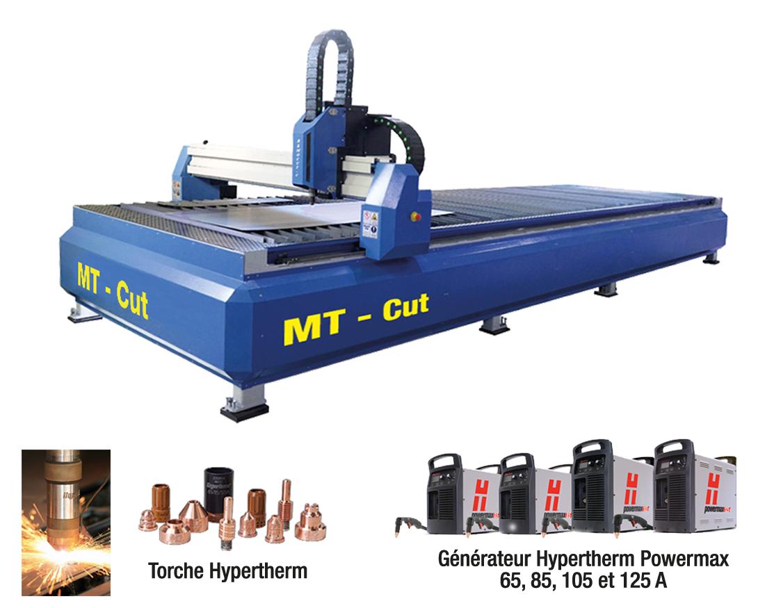 MT-Cut H2o Table à eau Plasma